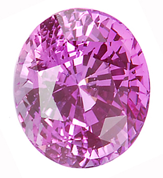 Super Deal on Spectacular Fine Large Oval Pink Sapphire Gemstone 7.84 carats