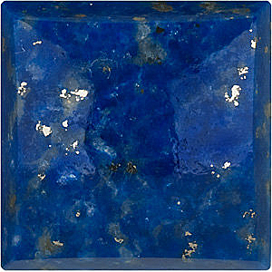 Lapis Square Cut Cabochon in Grade AAA