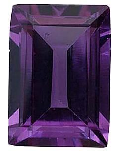 Standard Size Faux Color Change Alexandrite Gemstone In Antique Cushion Shape Sized 6.00 x 4.00 mm