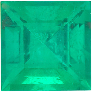 Step Square Genuine Emerald  in Grade A