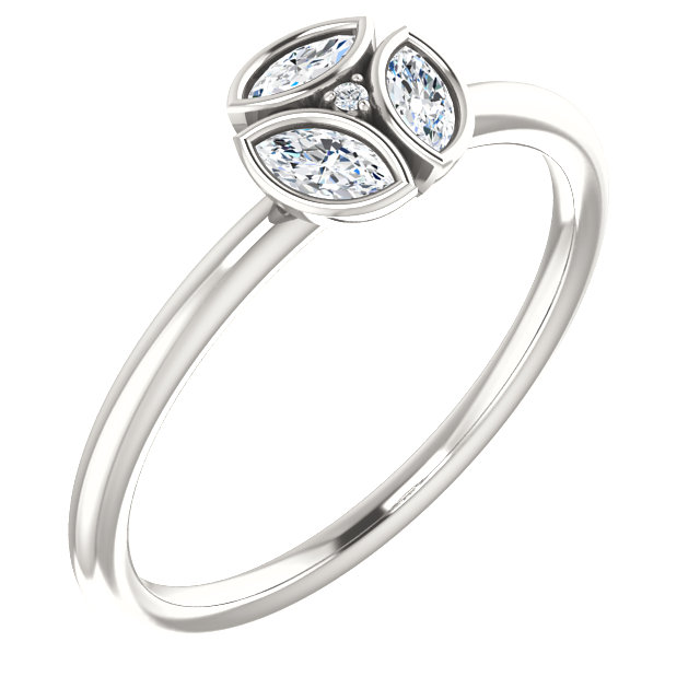 Deal on Sterling Silver 0.25 Carat TW Diamond Ring