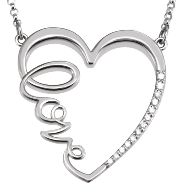 0.90 Ctw Genuine Moissanite Sterling Silver Infinity Solitaire Pendant Necklaces