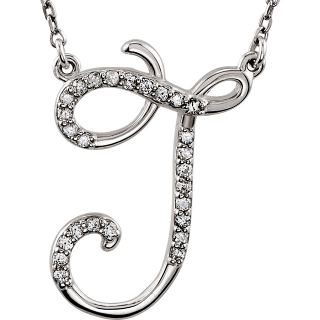 Must See Sterling Silver Letter