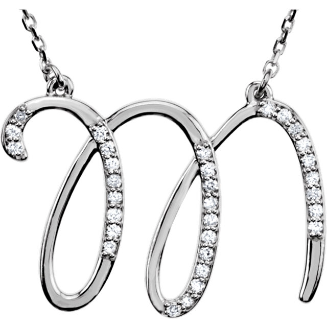 Fine Quality Sterling Silver Letter