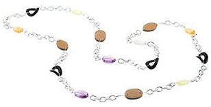 Sterling Silver Multi-Gemstone 42