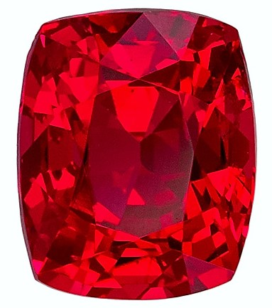 Exceptional Fiery Stunning 1.20 carat Ruby Loose Gem, Very Crystal Like in  6.11 x 5.03 x 4.18 mm Size