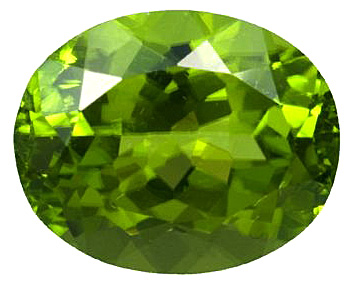 Stunning Burmese Natural Peridot Gemstone for SALE - Vivid Green, Oval Cut, 7.55 carats