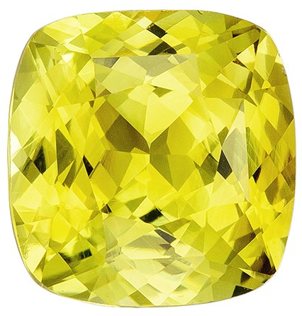Stunning Chrysoberyl Gemstone, 2.87 carats, Cushion Shape, 8.6 x 8.3 mm, Great Buy on This Stone