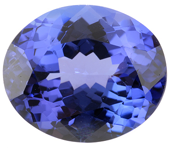 Great Deal on Stunning Color Perfect Ring Size Oval Tanzanite Gemstone 4.95 carats