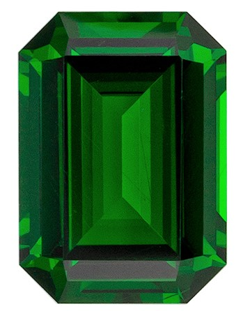 Stunning Green Tsavorite Gemstone, 1.16 carats, Emerald Shape, 7.2 x 5.1 mm, Amazing Gemstone - Low Price