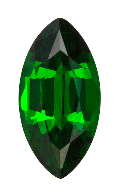 Stunning Tsavorite Marquise Shaped Gemstone, 0.79 carats, 8.5 x 4.5mm - A Beauty of A Gem