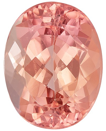 Super Fine Gem, Great Deal  Oval Cut Faceted Imperial Topaz Gemstone, 1.48 carats, 7.4 x 5.7 mm , A Great Deal