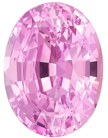 Super Fine Gem!  Oval Cut Loose Pink Sapphire Gemstone, 1.99 carats, 8.18 x 6.06 x 4.72 mm with GIA Certificate, A Must Have Gem