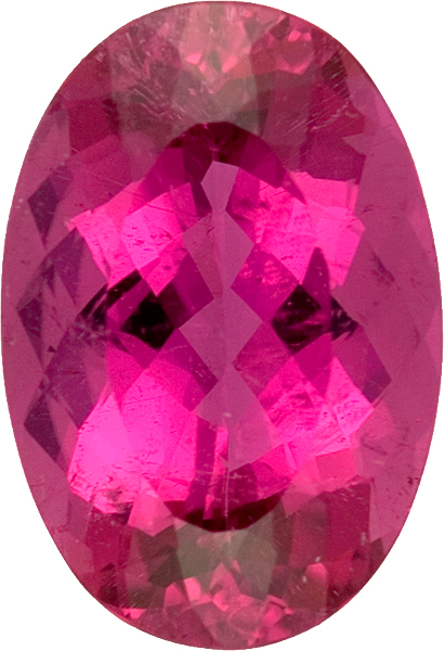 Super Gem Rubelite Red Tourmaline No Color Enhancement in Oval Cut 17.2 x 12.1 mm, 10.48 carats