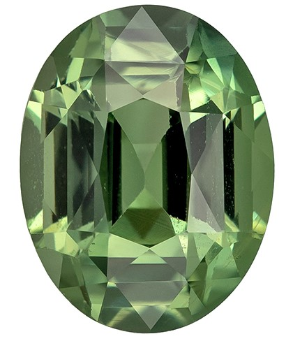 Super Great Buy on  Oval Cut Beautiful Blue Green Sapphire Gemstone, 1.83 carats, 7.8 x 6.1 mm , Great Ring Gemstone