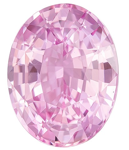 Super Great Buy on  Oval Cut Faceted Pink Sapphire Gemstone, 2.3 carats, 8.9 x 6.9 mm , Stunning Fine Stone