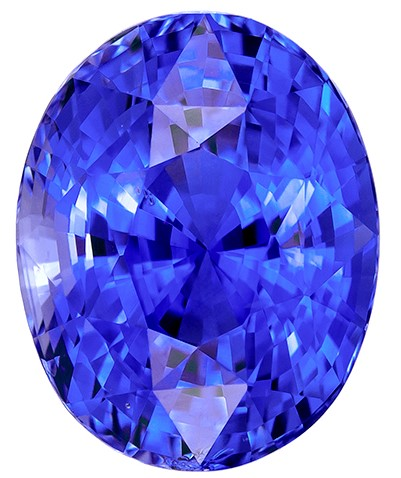 Super Great Buy on  Oval Cut Gorgeous Blue Sapphire Gemstone, 3.56 carats, 9.3 x 7.4 mm , Super Lovely Gem