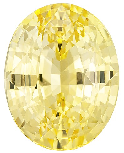Super Great Buy on  Oval Cut Gorgeous Yellow Sapphire Gemstone, 6.56 carats, 12.01 x 9.42 x 6.77 mm with GIA Certificate, Huge Presence