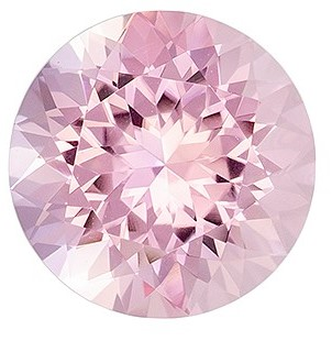 Super Great Buy on  Round Cut Gorgeous Morganite, 1.95 carats, 8.4 mm , Super Lovely Gem
