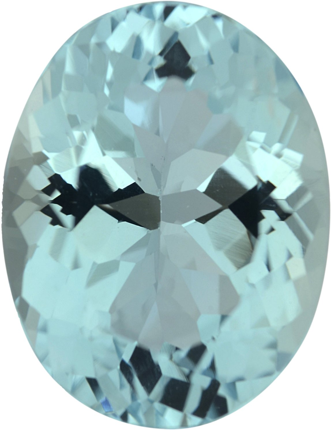 Super Nice Oval Cut Loose Aquamarine Gem, Greenish Blue, 11.43 x 8.76 mm, 3.39 carats