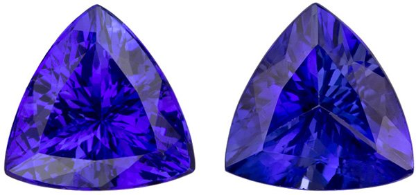 tanzanite for cushion aaa prices buy online at sale faceted gemstones in quality stone best cut