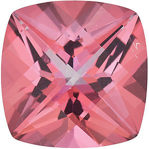 Swarovski  Pink Passion Topaz Antique Square Cut in Grade AAA