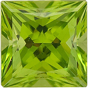 Swarovski Princess Peridot  in Grade GEM