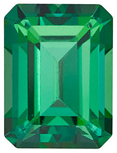 Swarovski  Rainforest Passion Topaz Emerald Cut in Grade AAA