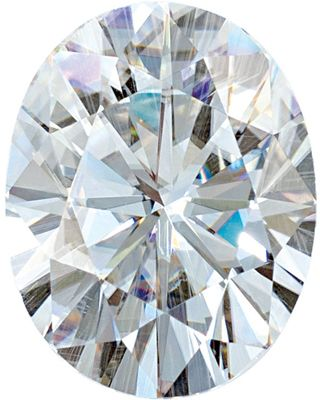 Synthetic Value Quality Loose Moissanite Gemstone in Round Cut, 4.00 x 2.00 mm in Size, 0.09 Carats