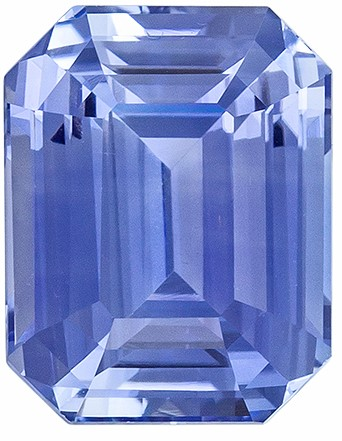 Terrific Buy on Blue Sapphire Gemstone, 2.62 carats, Emerald Shape, 8.5 x 6.7 mm, Magnificent Gem