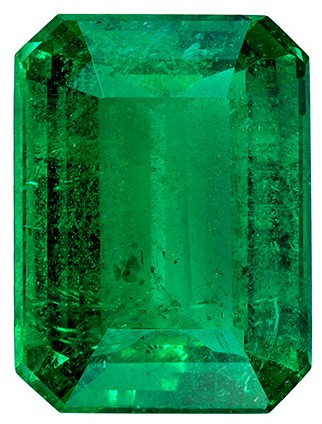 Terrific Buy on Emerald Gemstone, 3.16 carats, Emerald Shape, 10.8 x 8.1 mm, A Wonderful Find