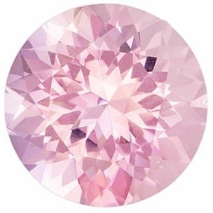 Terrific Buy on Killer Morganite Gemstone, 2.01 carats, Round Shape, 8.7 mm, A Beauty of A Gem
