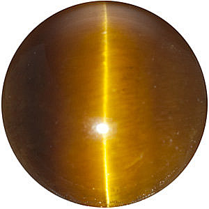 Tigers Eye Brown Round Cut