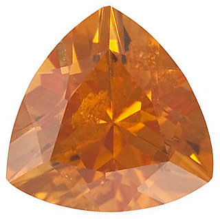 Trillion Shape Citrine Gemstone Grade AAA, 6.00 mm in Size, 0.67 carats