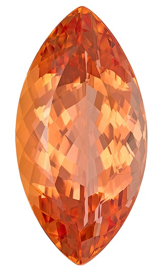 Deal on  Golden Topaz Genuine Gemstone, 8.48 carats, Marquise Shape, 18.5 x 9.4 mm