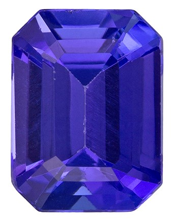 Truly Stunning  Octagon Cut Natural Tanzanite Gemstone, 1.44 carats, 7.5 x 5.5 mm , A Must Have Gem