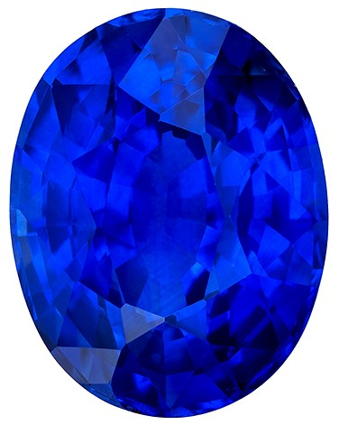 Truly Heirloom ++ Stunning  Oval Cut Natural Blue Sapphire Gemstone Gemstone, 7.01 carats, 12.3 x 9.6 mm , Top Gem Material