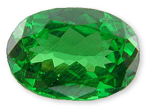 Rich Mint  Green Tsavorite Garnet Gemstone 1.23 carats, Great Buy
