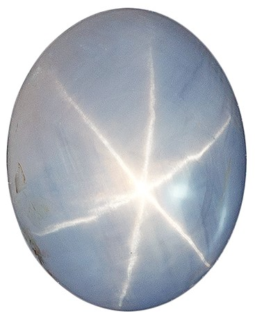 Low Price Star Sapphire Genuine Stone, 4.57 carats, Oval Cut, 10 x 8.1  mm , Top Top Gem - Low Cost