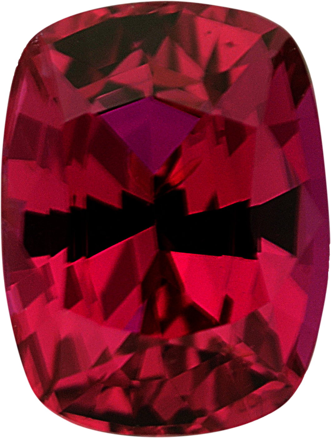 Unbelievable Cushion Cut Loose Ruby Gem,  Red Color, 7.25 x 5.51 mm, 1.48 carats