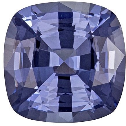 Real Blue Spinel Gemstone, Cushion Cut, 3.09 carats, 8.9 mm , AfricaGems Certified - A Low Price