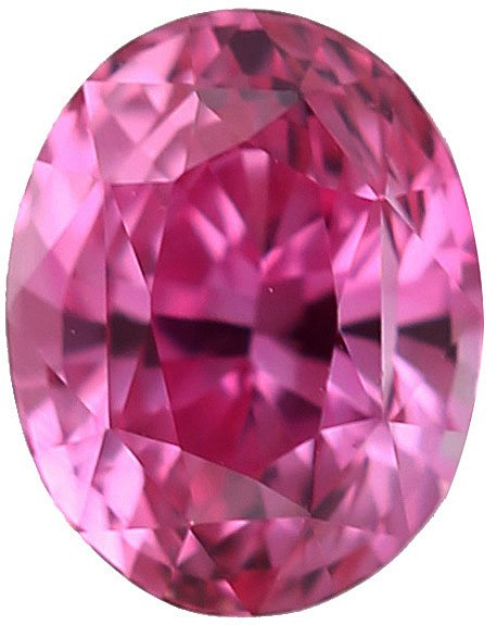 Unheated Oval Beautiful Gem Pink Sapphire Gemstone, 2.35 carats, 8.3 x 6.6 mm with GIA Certificate