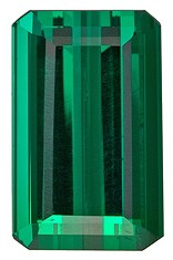 Unset Blue Green Tourmaline Gemstone, Emerald Cut, 10.93 carats, 16 x 10 x 7.2 mm , AfricaGems Certified - A Low Price