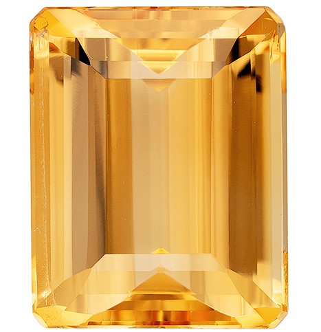 Unset Precious Topaz Gemstone, Emerald Cut, 3.72 carats, 10 x 7.9 mm , AfricaGems Certified - A Great Buy