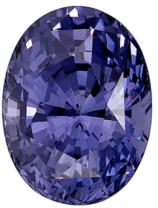 Untreated 3.07 carats Blue Spinel Loose Gemstone in Oval Cut, Violet Blue, 9.5 x 7.1 mm