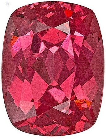 Unusual Vietnamese Red Spinel - Great for Jewelry, Cushion Cut, 1.23 carats
