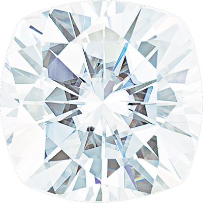Value Grade Moissanite DEF Color Antique Square