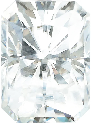 Value Grade Moissanite DEF Color Radiant