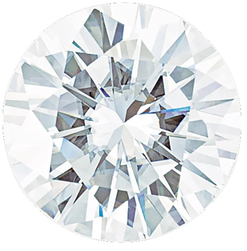 Value Grade Moissanite DEF Color Round