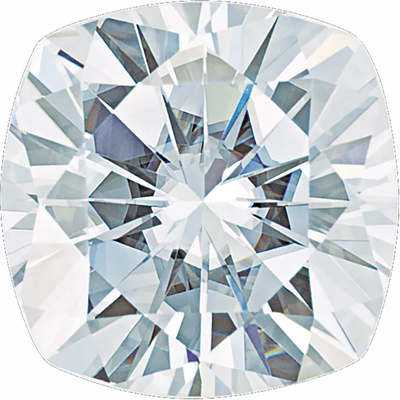 Value Grade Moissanite GHI Color Antique Square